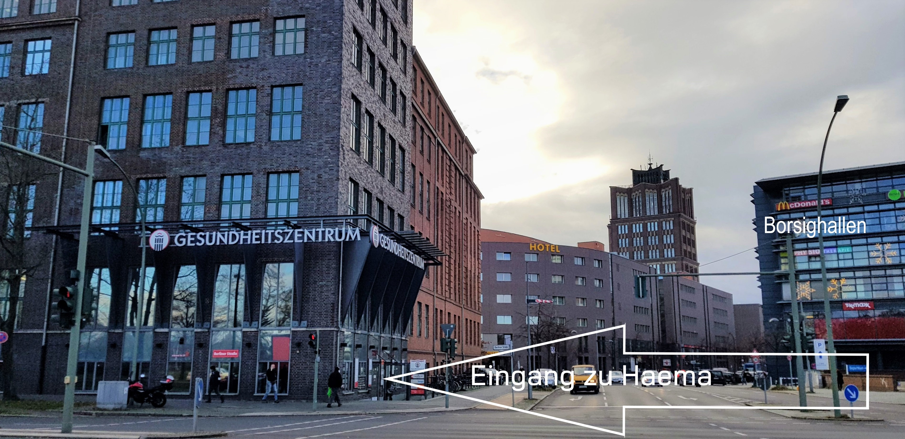 Haema Blutspendezentrum Berlin-Tegel