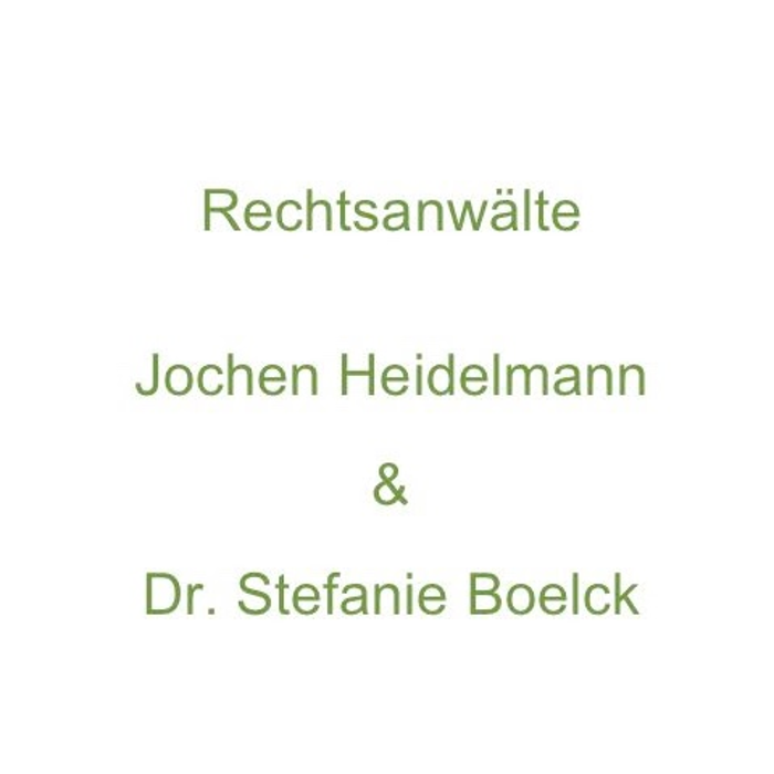 Bild zu Jochen Heidelmann und Dr. Stefanie Boelck - Rechtsanwälte in Wertheim