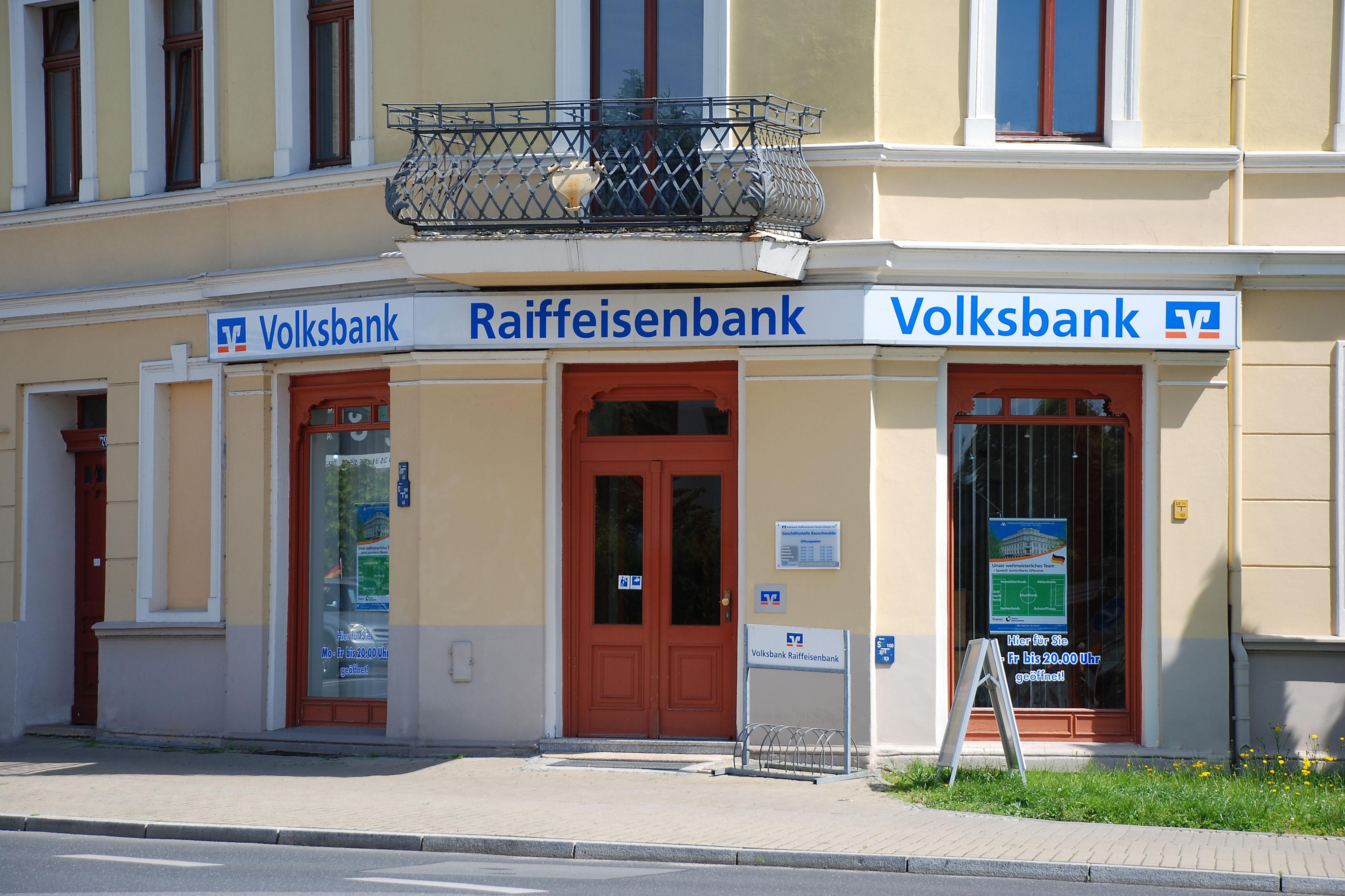 Volksbank Raiffeisenbank Niederschlesien eG Geschäftsstelle Rauschwalde