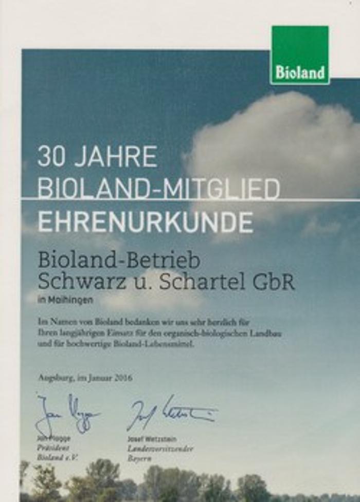 Bild zu Biolandhof Schwarz&Schartel in Maihingen