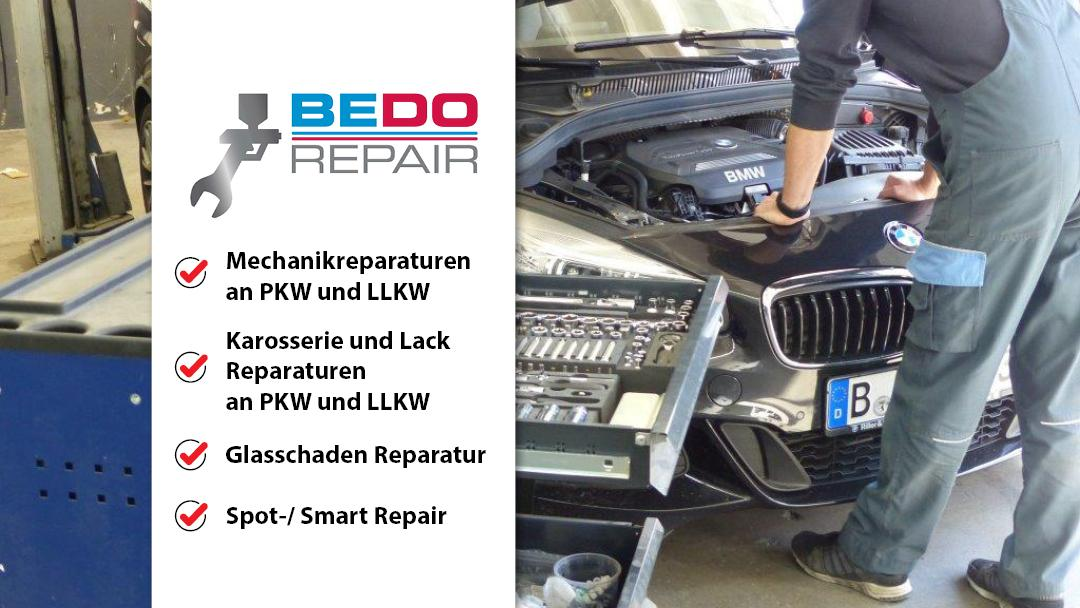 BEDO Repair GmbH, Attilastraße in Berlin