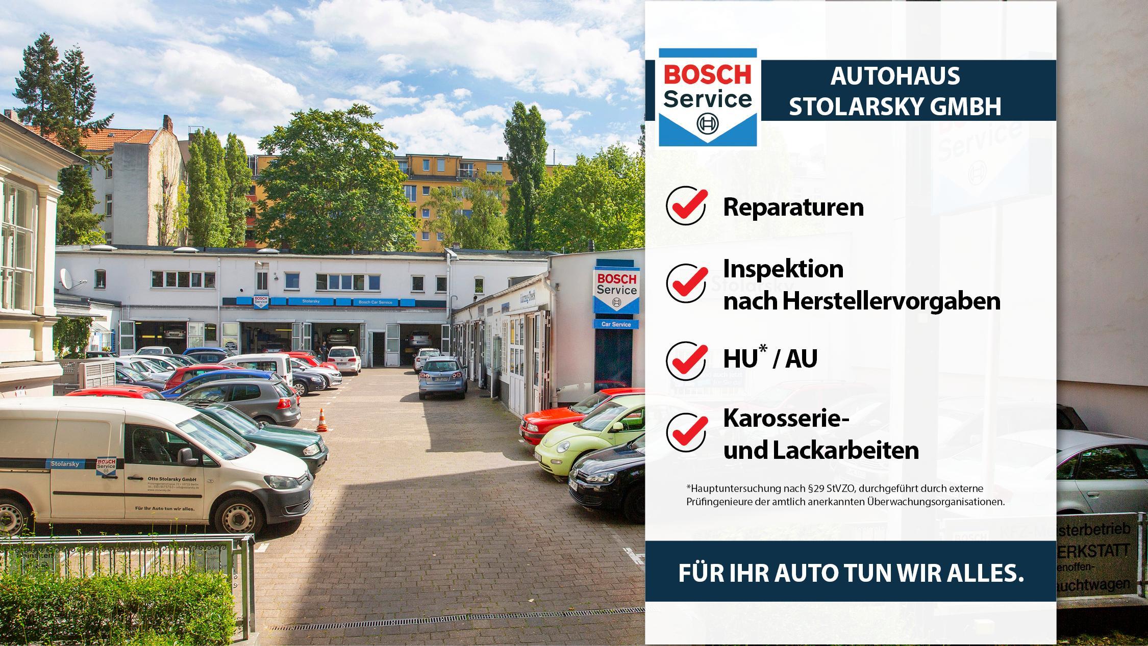 Autohaus Stolarsky GmbH, Prinzregentenstraße in Berlin