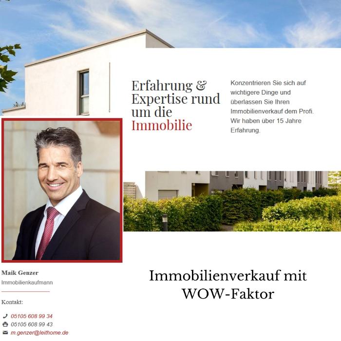 Bild zu Maik Genzer Leithome Immobilien GmbH in Barsinghausen