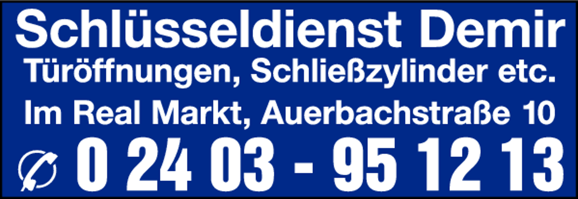 Bild zu Schuh- und Schlüsseldienst Demir Im Real Markt Eschweiler in Eschweiler im Rheinland