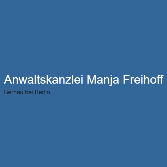 Bild zu Manja Freihoff Rechtsanwältin in Bernau bei Berlin