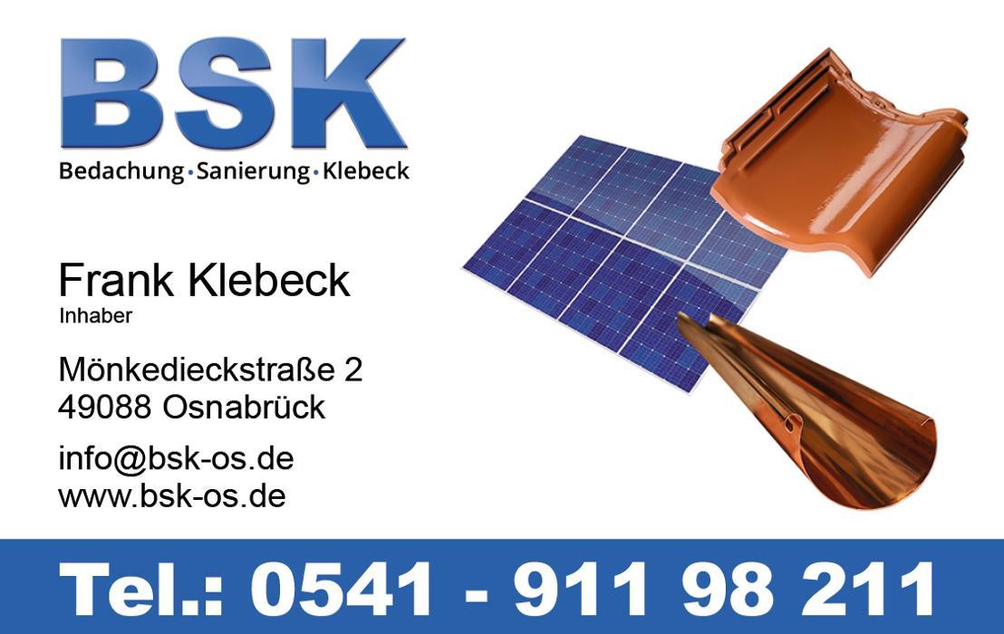 Bild zu Frank Klebeck Dienstleistungen im Handwerk in Osnabrück
