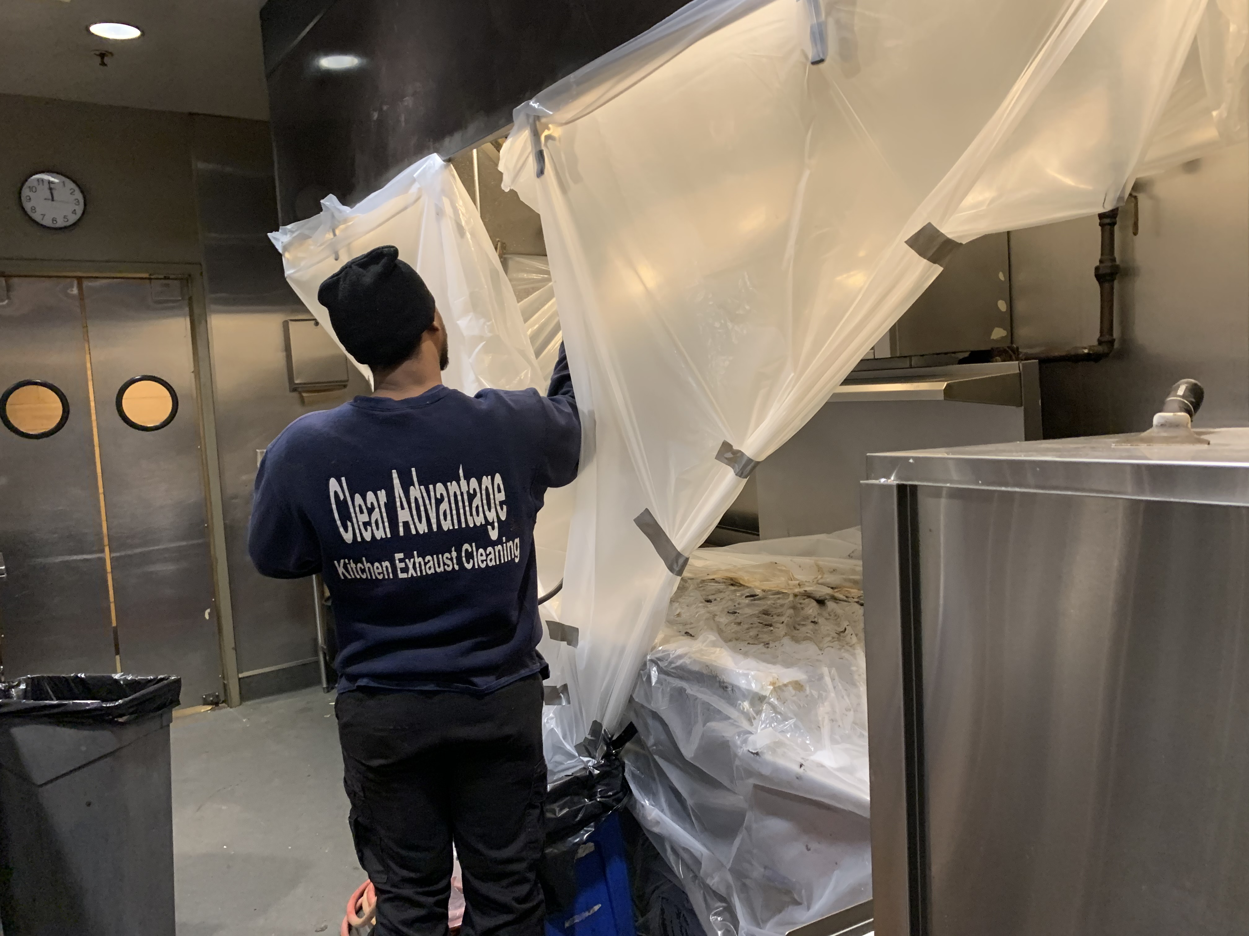 Clear Advantage Kitchen Exhaust Cleaning Service
