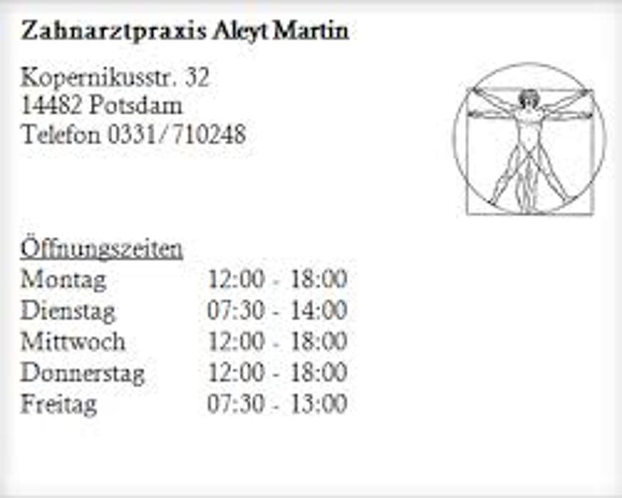 Bild zu Zahnarztpraxis Aleyt in Potsdam