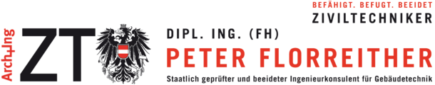Ziviltechniker Dipl. Ing. (FH) Peter Florreither.