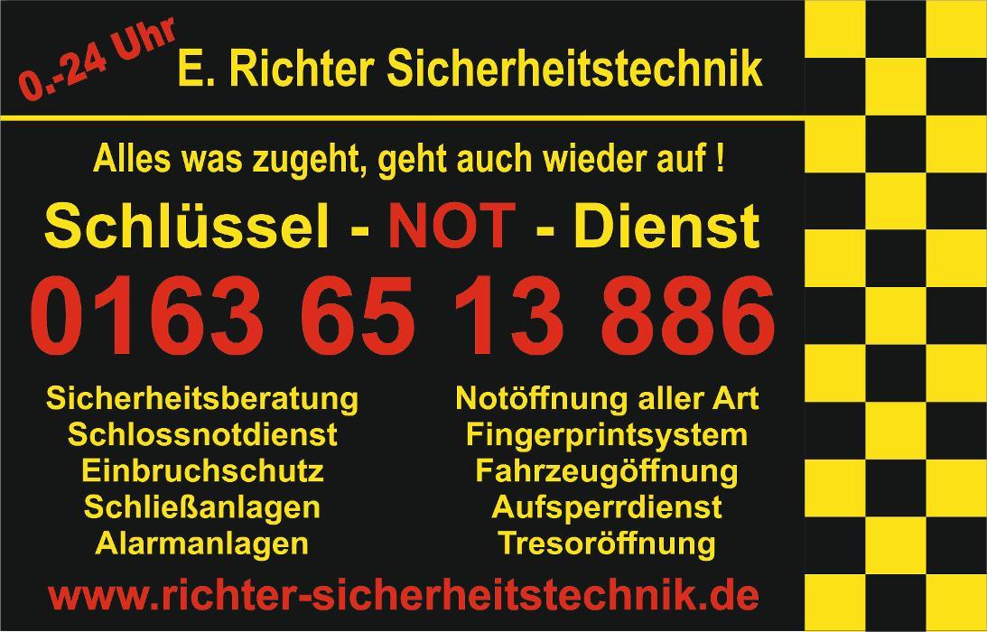 Bild zu E. Richter Sicherheitstechnik & Schlüsselnotdienst in Höchst im Odenwald