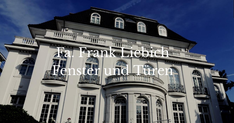 Bild zu Fa. Frank Liebich - Fenster und Türen in Berlin