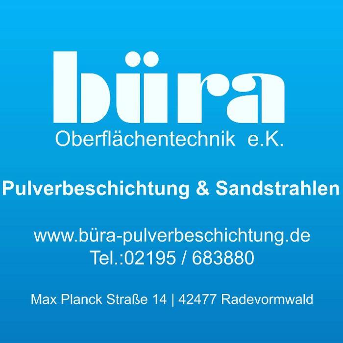 Bild zu Büra Oberflächentechnik e.K. Pulverbeschichtung und Sandstrahlen in Radevormwald