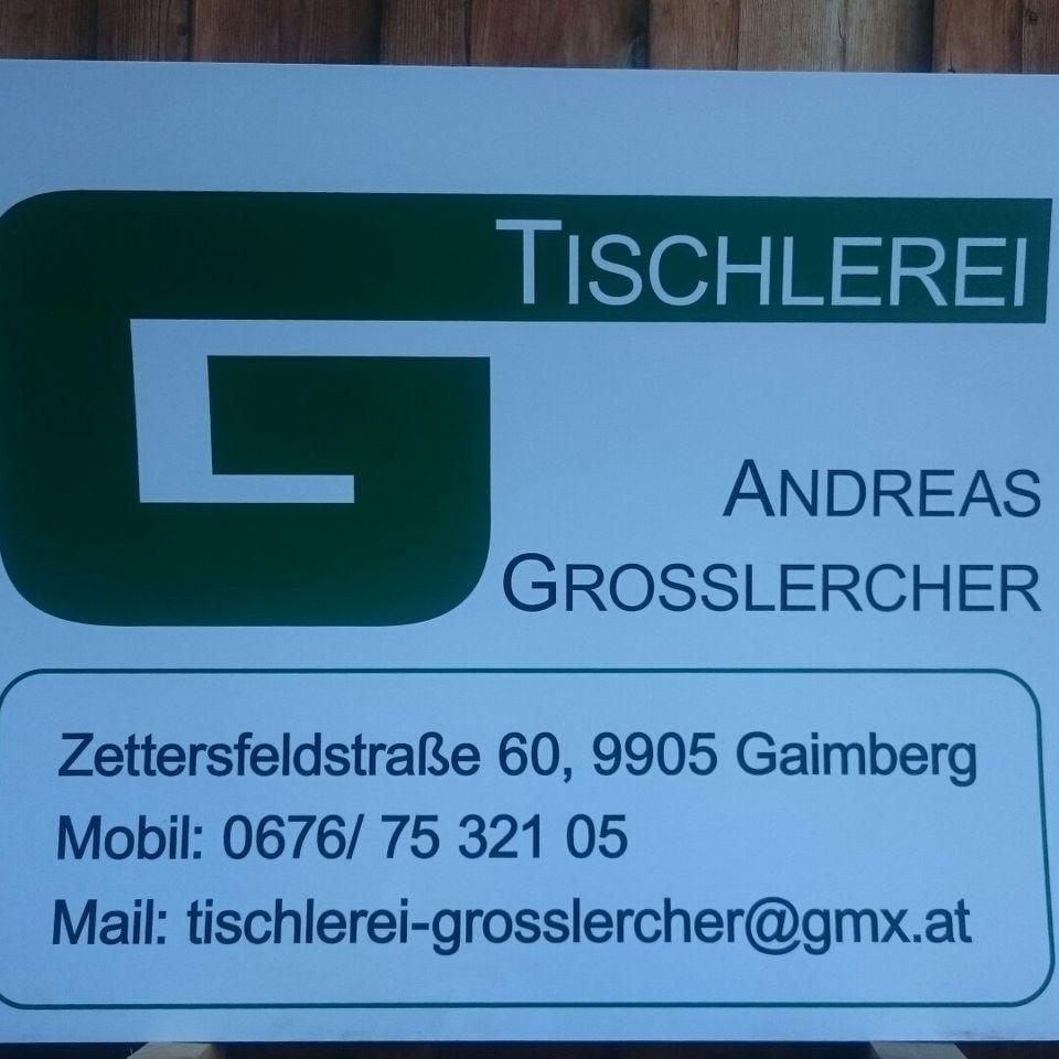 Tischlerei Andreas Großlercher