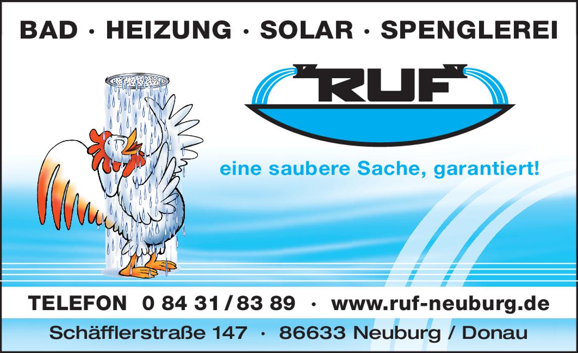 Bild zu Bad-Heizung-Solar-Spenglerei-Ruf Neuburg in Neuburg an der Donau