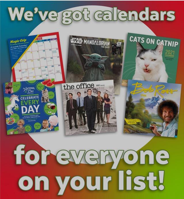 Go! Calendars, Toys & Games