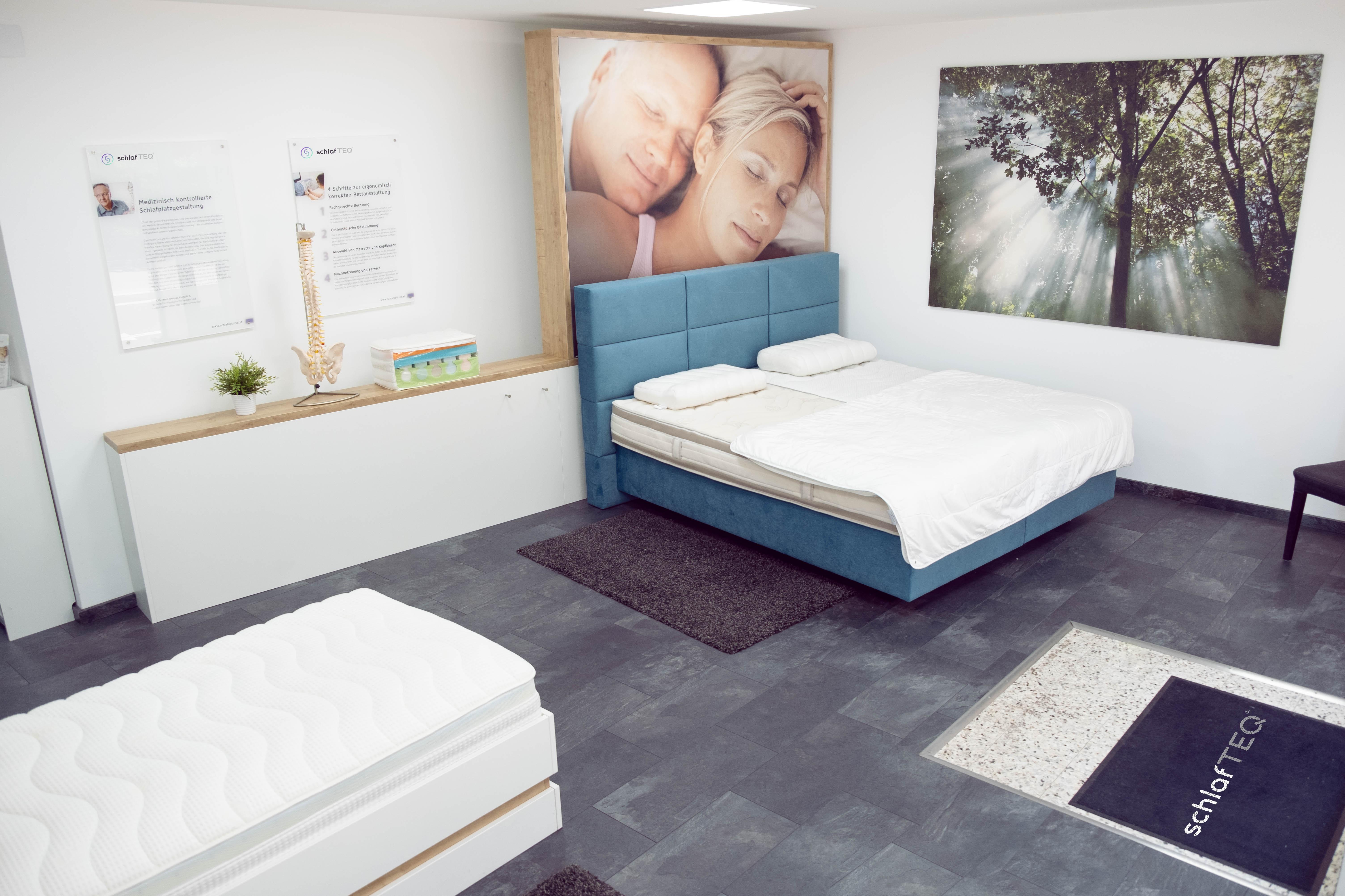 schlafTEQ Linz - Ergonomisches Liegezentrum