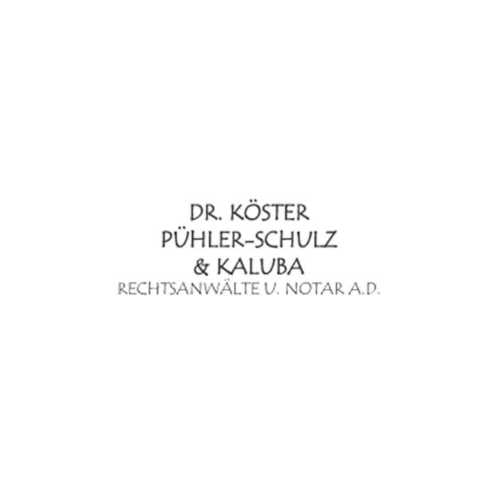 Bild zu Rechtsanwälte Dr. Köster - Pühler-Schulz & Kaluba in Dortmund