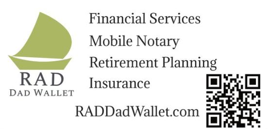 RAD Dad Wallet