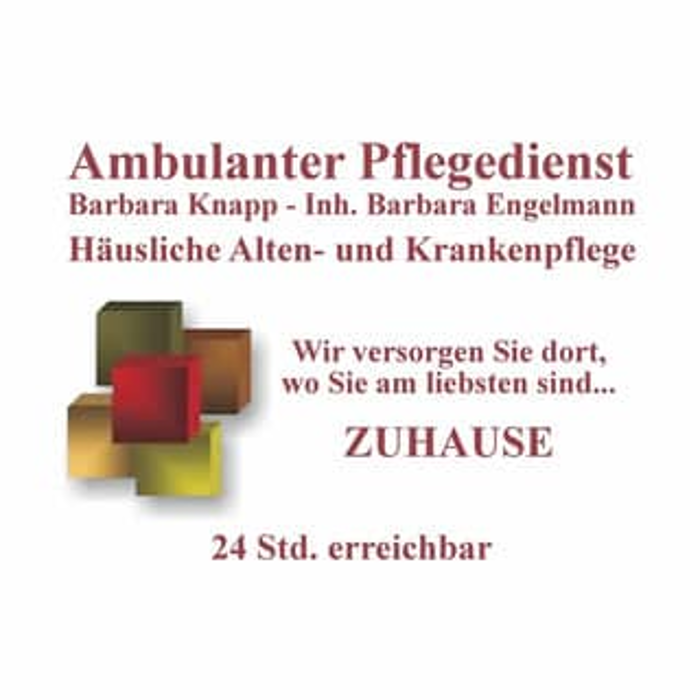 Bild zu Ambulanter Pflegedienst Barbara Knapp Inh. Barbara Engelmann in Maintal