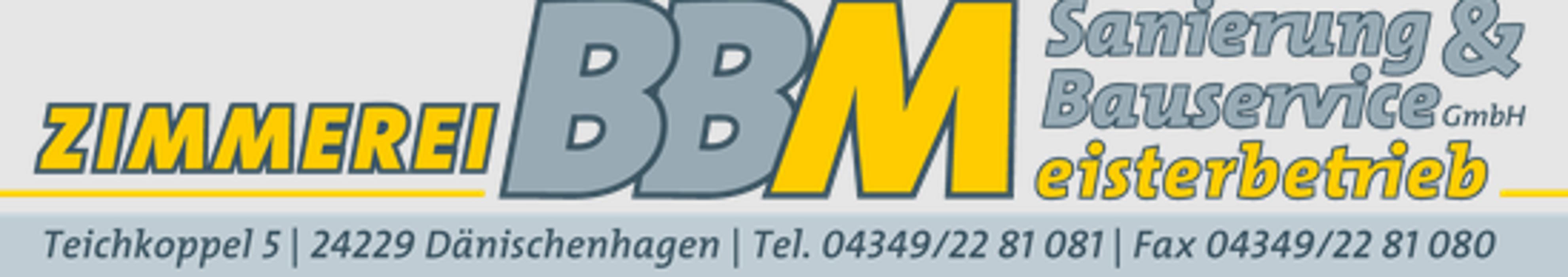 Bild zu BBM Sanierung & Bauservice GmbH Meisterbetrieb in Dänischenhagen