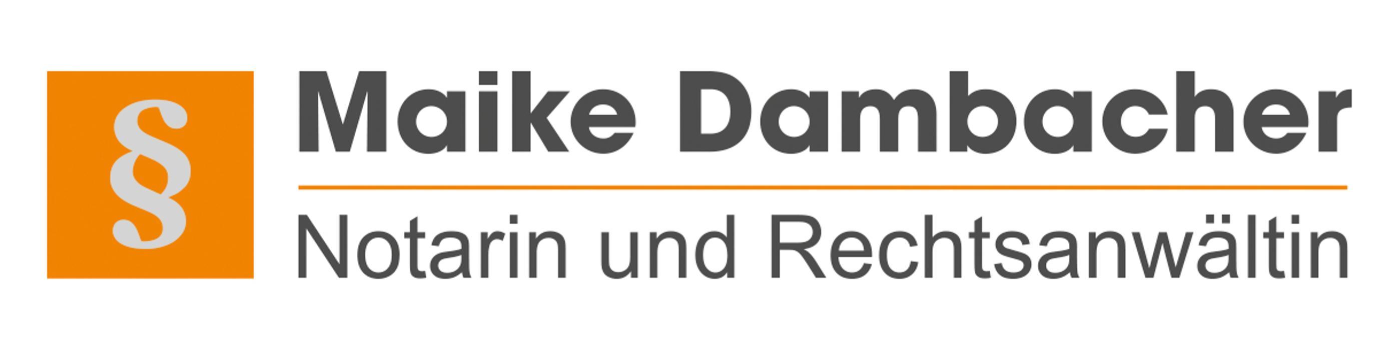 Bild zu Maike Dambacher, Notarin und Rechtsanwältin in Seligenstadt