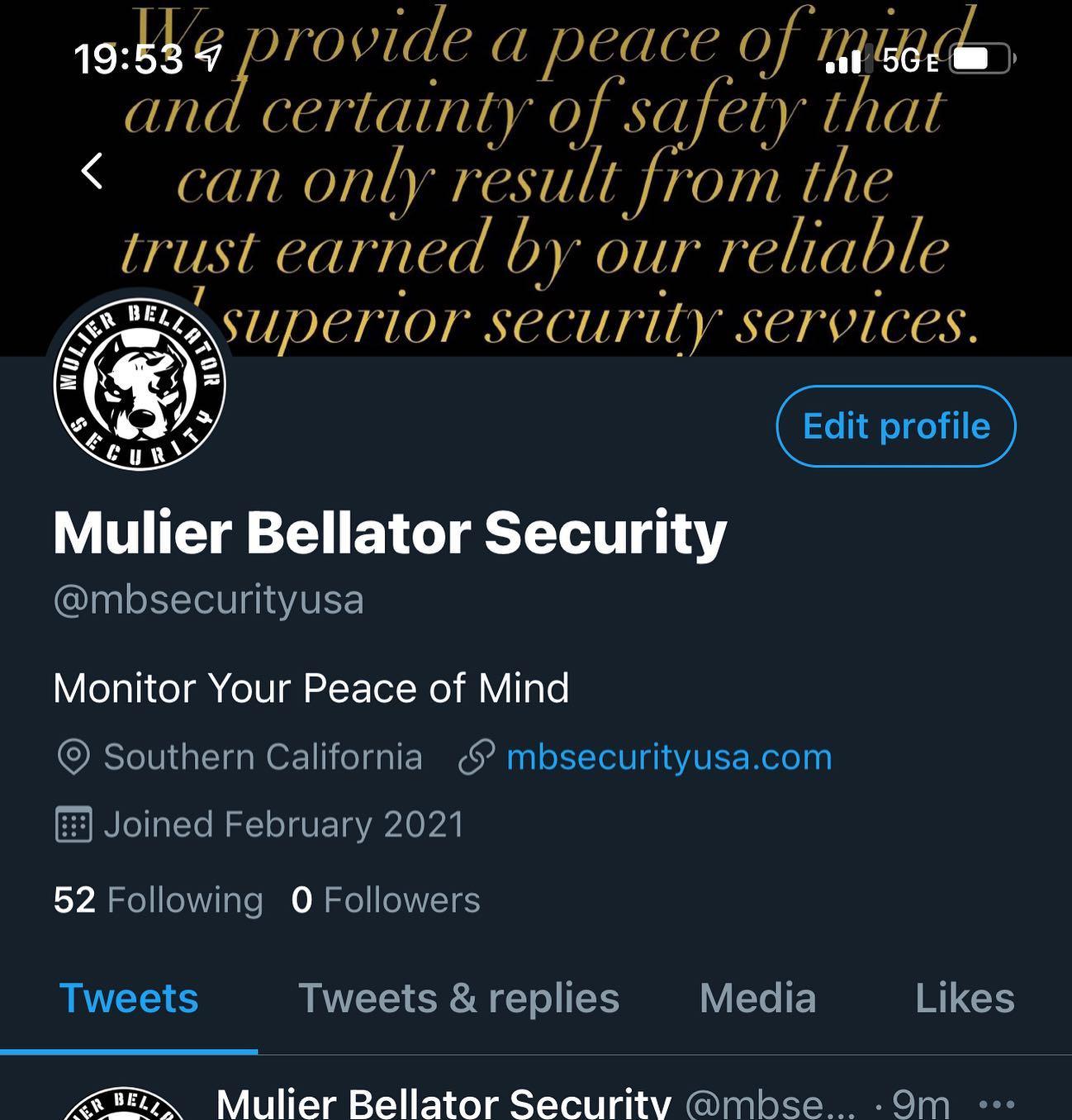 Mulier Bellator Security