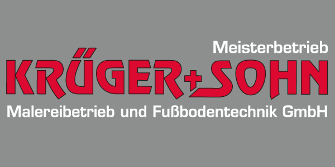 Bild zu Krüger & Sohn Malereibetrieb und Fußbodentechnik GmbH in Seevetal