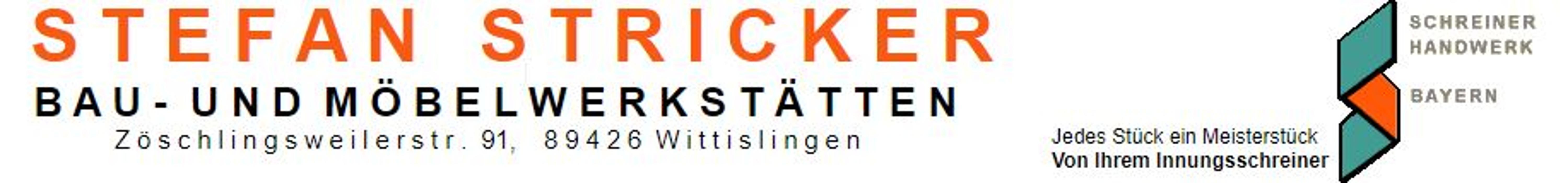 Bild zu Schreinerei Stefan Stricker Bau- und Möbelschreinerei in Wittislingen