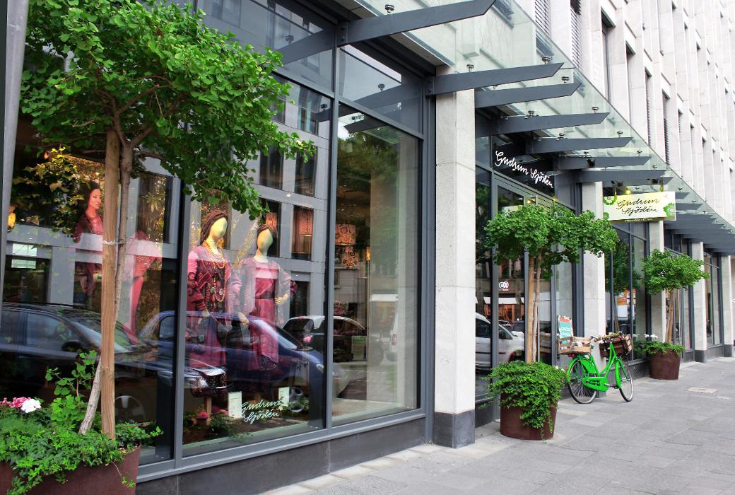 Gudrun Sjödén Konzeptladen, Ludwigstraße in Köln