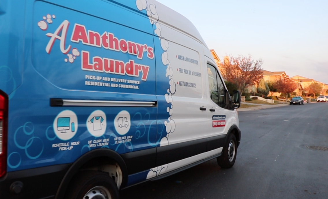 Anthonys Laundry Pick Up & Delivery