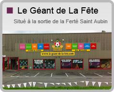 LE GEANT DE LA FETE - ETS BELLIER