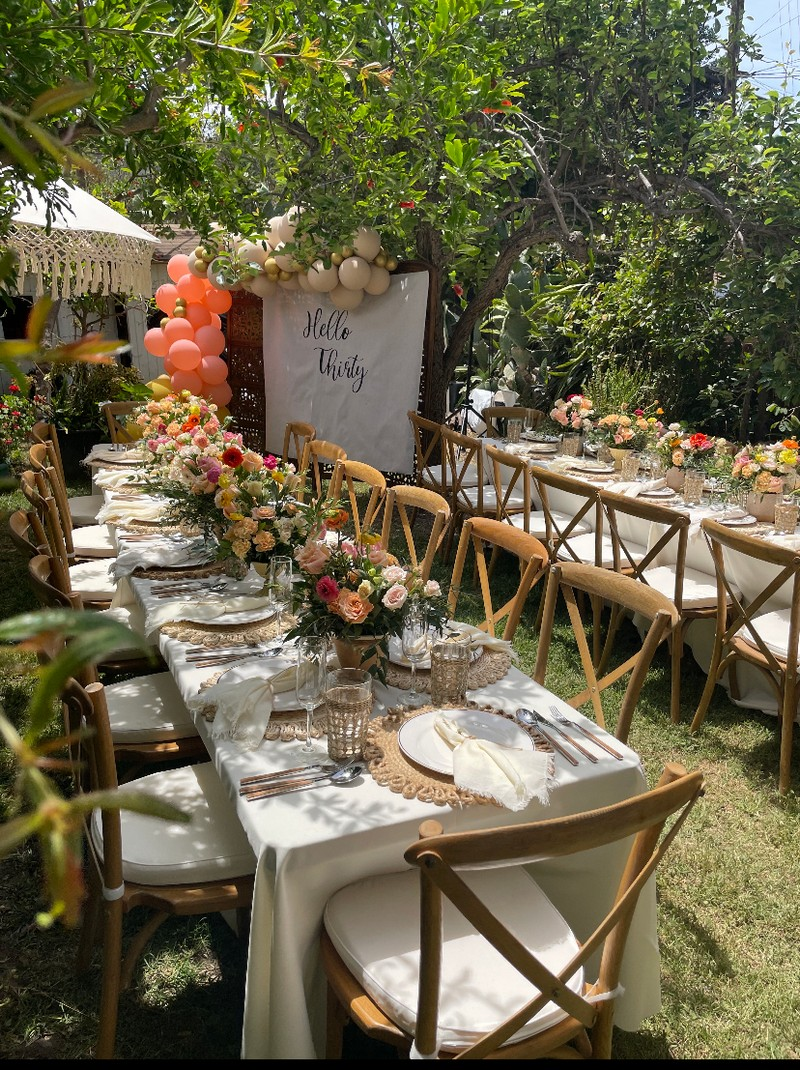 SS Floral Event by Sandy