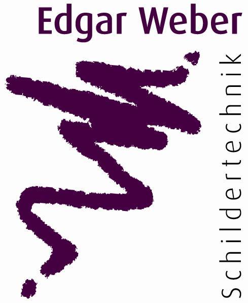 Logo von Edgar Weber Schildertechnik
