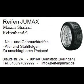 Bild zu Reifen JUMAX in Dornstadt in Württemberg
