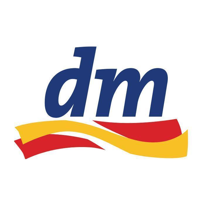Logo von dm-drogerie markt