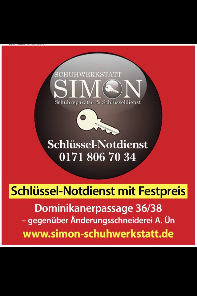 Schuhwerkstatt Simon Schuhreparatur & Schlüsseldienst
