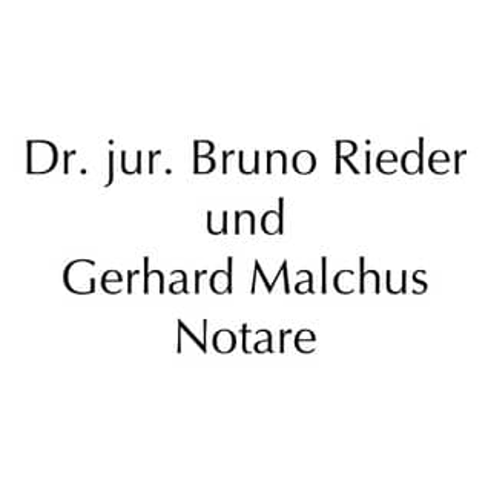 Bild zu Dr. jur. Bruno Rieder u. Gerhard Malchus Notare in Speyer