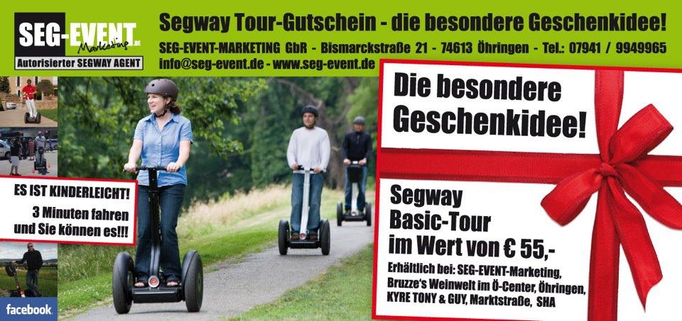 Seg Event Marketing Segway Tour Operator
