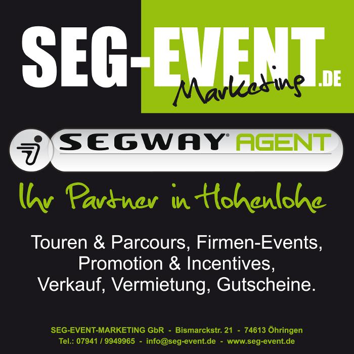 Bild zu Seg Event Marketing Segway Tour Operator in Öhringen