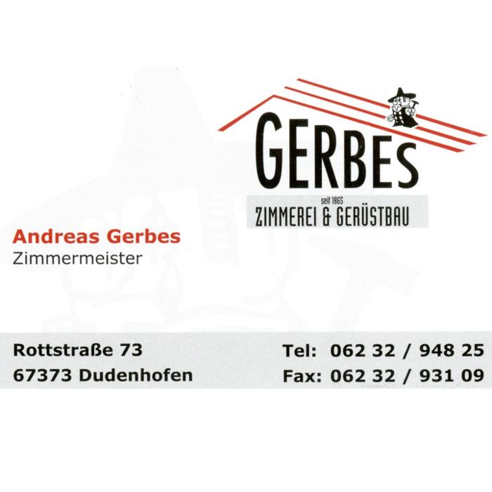 Bild zu Gerbes Andreas Zimmergeschäft in Dudenhofen in der Pfalz