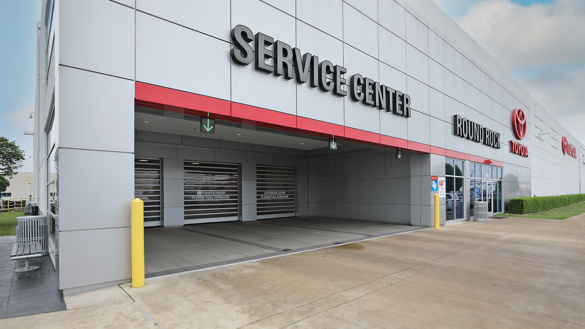 Round Rock Toyota Service Department