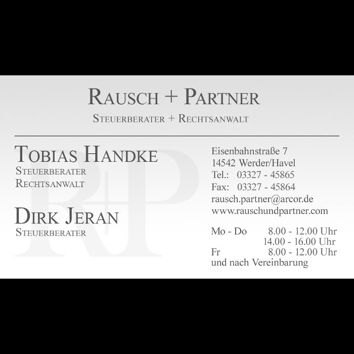 Bild zu Rausch + Partner Steuerberater + Rechtsanwalt in Werder an der Havel