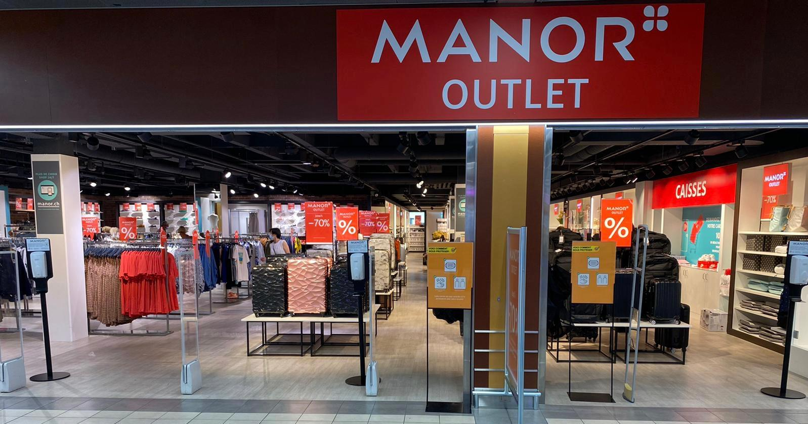 MANOR Outlet Meyrin