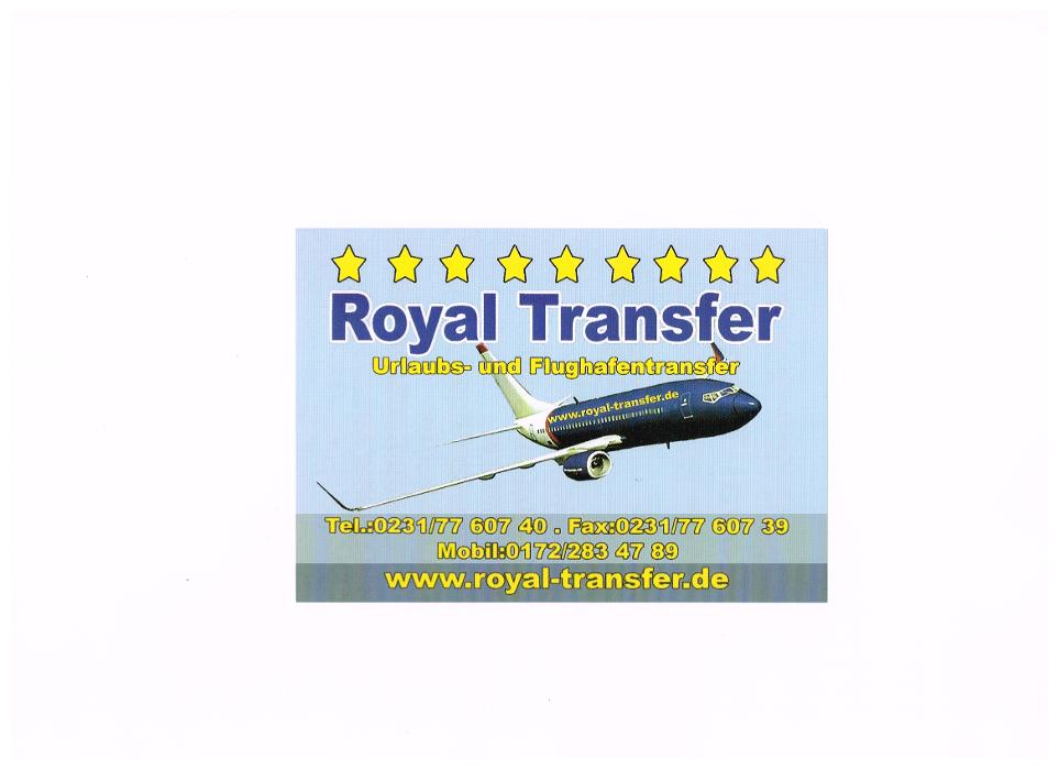 Logo von Royal Transfer