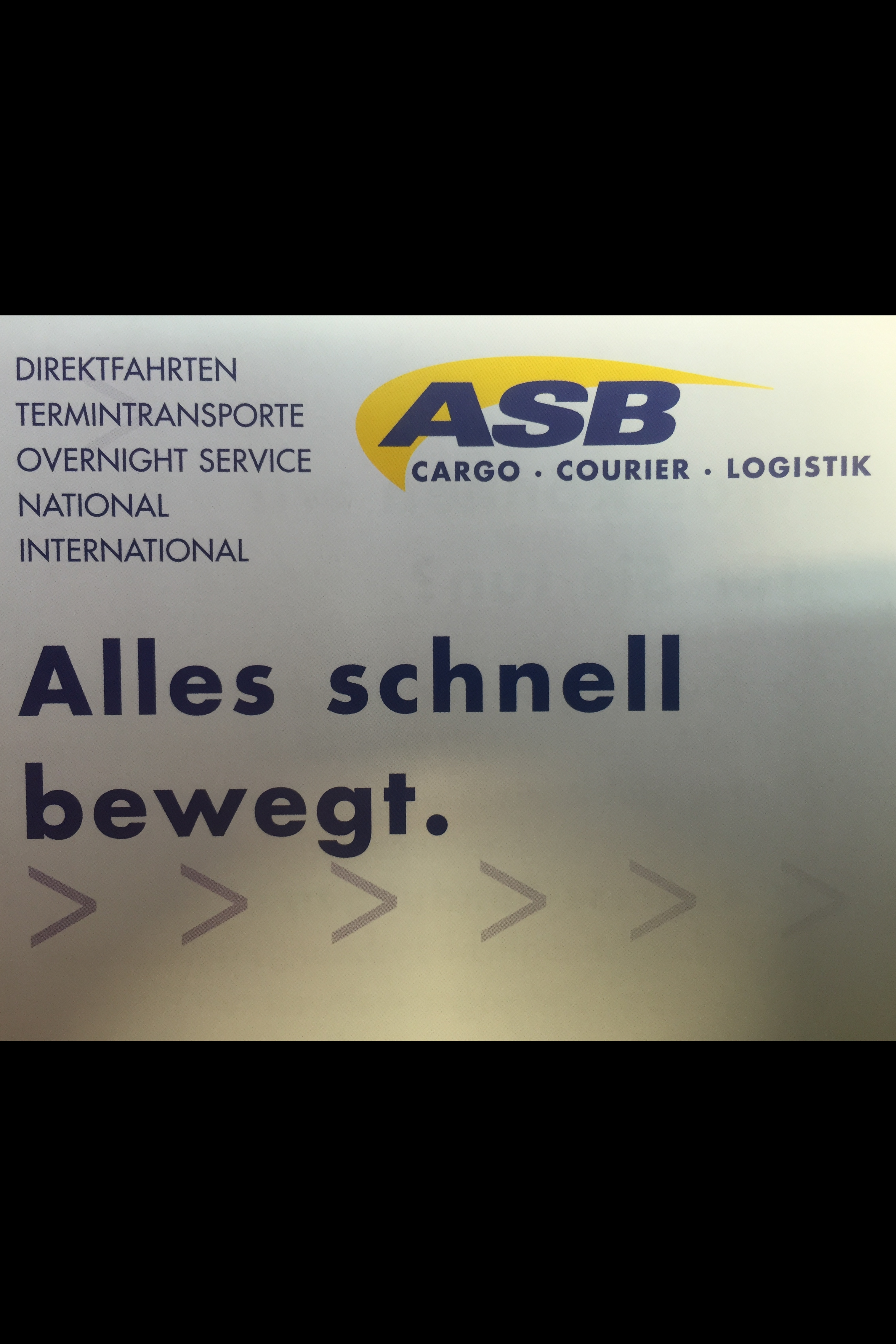 ASB Cargo Courier Logistik