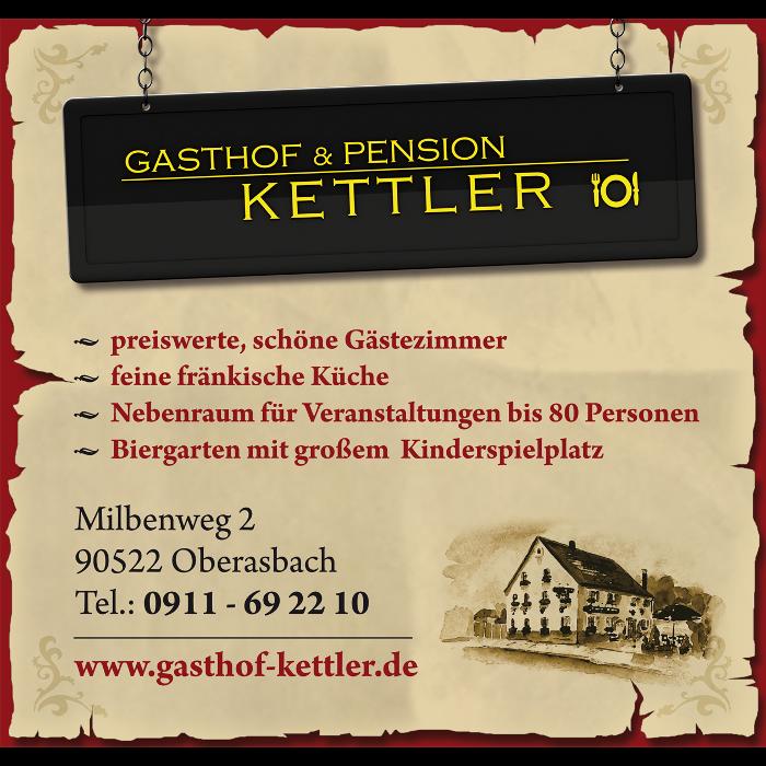 Bild zu Gasthof Kettler GmbH in Oberasbach bei Nürnberg