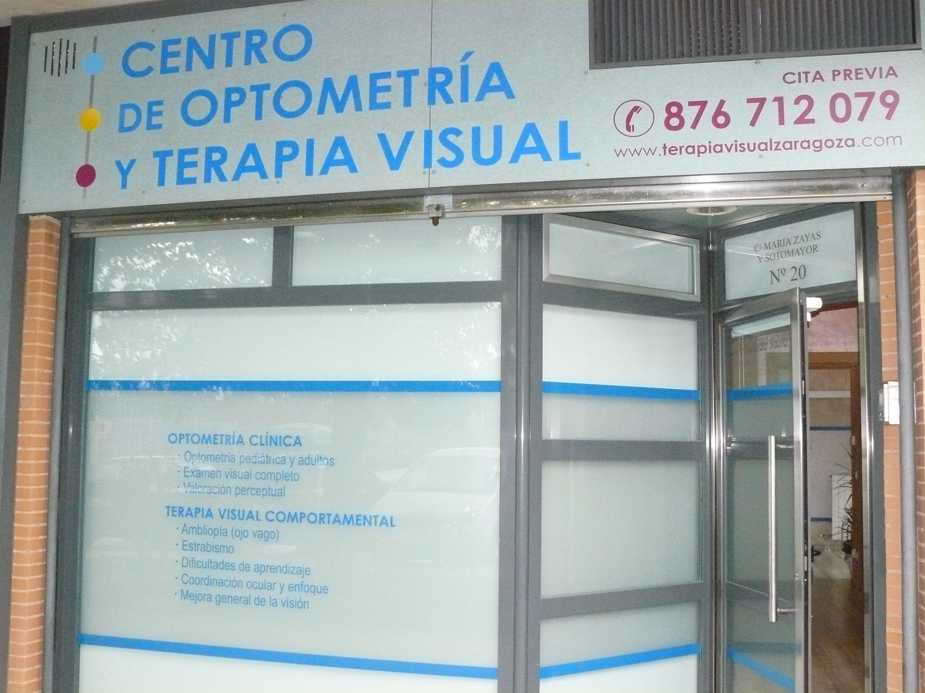 Centro de Optometría y Terapia Visual