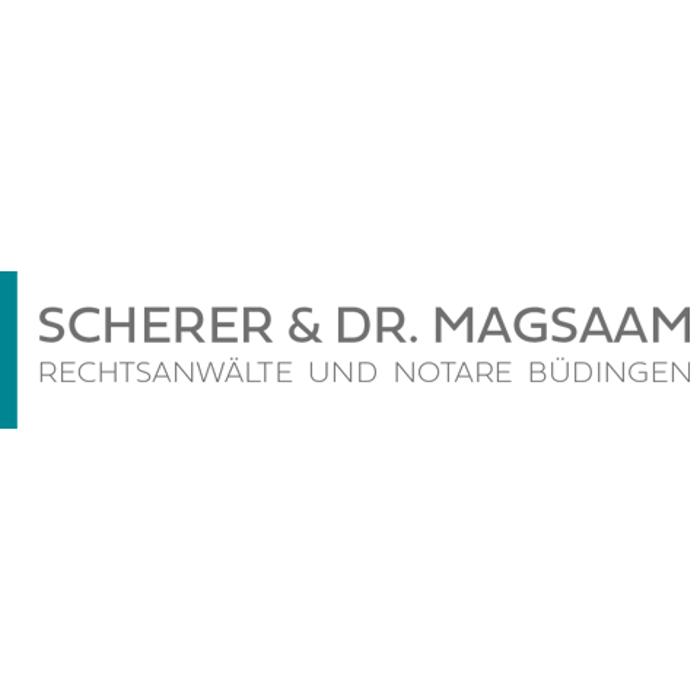 Bild zu Scherer & Dr. Magsaam - Rechtsanwälte u. Notare in Büdingen in Hessen