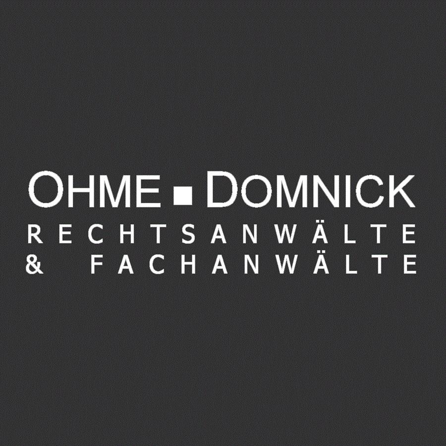 OHME DOMNICK RECHTSANWÄLTE & FACHANWÄLTE