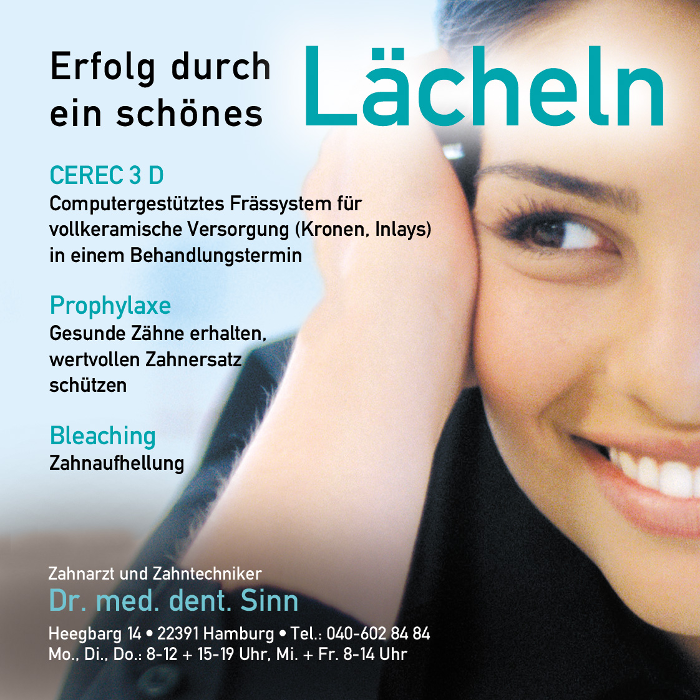 Bild zu Zahnarzt Dr. Stephan Sinn in Hamburg